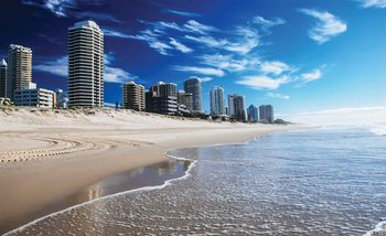 Carta da parati Spiaggia Dorata Costa