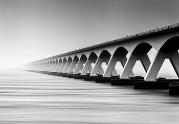 Carta da parati The Endless Bridge