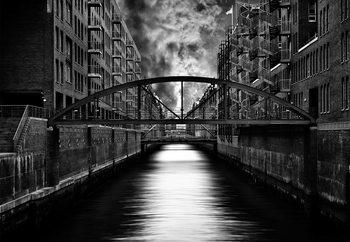 Carta da parati The Other Side Of Hamburg
