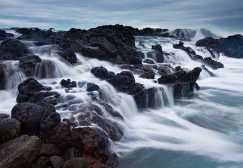Carta da parati The Tide And The Rocks