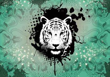 Carta da parati  Tiger Abstract