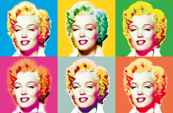 Carta da parati VISIONS OF MARILYN