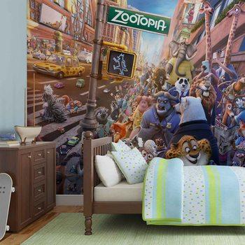 Carta da parati Walt Disney Zootropolis