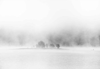 Carta da parati White Lake