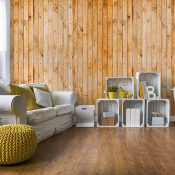 Carta da parati Wooden Planks Texture
