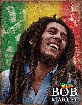 Bob Marley - Mosaic Carteles de chapa