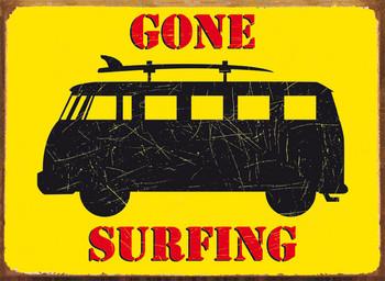 GONE SURFING Carteles de chapa