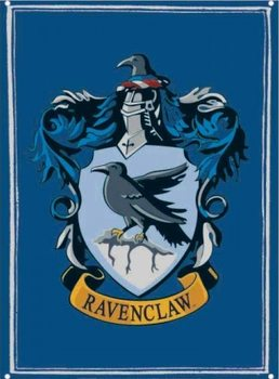 Cartel de metal Harry Potter - Ravenclaw