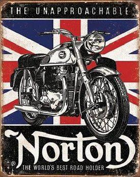 NORTON - Best Roadholder Carteles de chapa