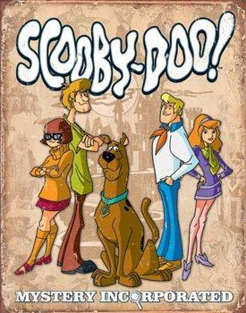 Scooby Doo - Gang Retro Carteles de chapa