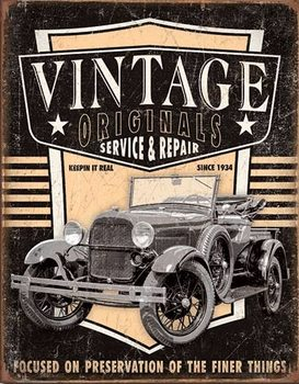 Vintage Originals - Pickup Carteles de chapa