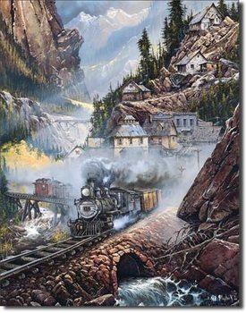 Cartelli Pubblicitari in Metallo Blaylock - Silverdale Run