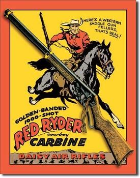 Cartelli Pubblicitari in Metallo DAISY RED RYDER CARBINE
