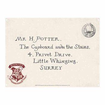 Cartelli Pubblicitari in Metallo Harry Potter - Letters