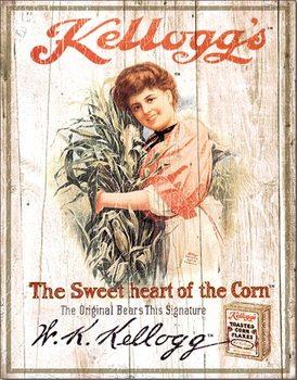 Cartelli Pubblicitari in Metallo Kellogg's Sweetheart