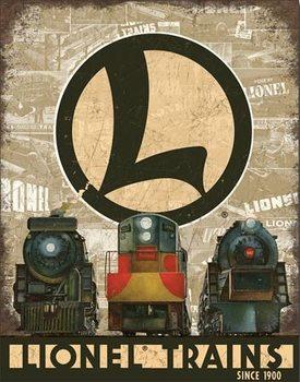 Cartelli Pubblicitari in Metallo Lionel Legacy