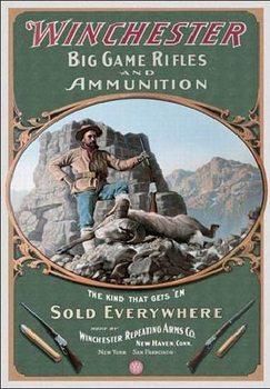 Cartelli Pubblicitari in Metallo WINCHESTER - Hunter