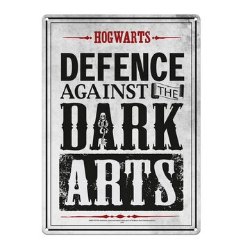 Cartello in metallo Harry Potter - Dark Arts