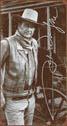 Cartello in metallo JOHN WAYNE SIGNATURE