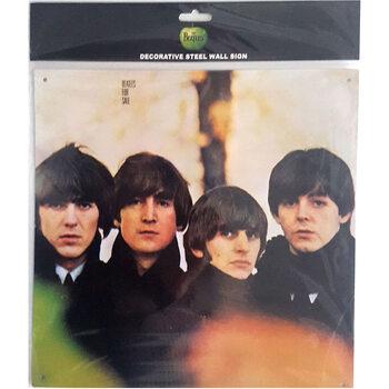 Cartello in metallo The Beatles - For Sale