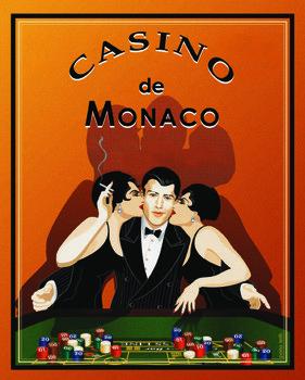 Casino de Monaco Festmény reprodukció