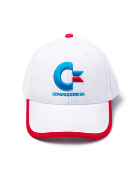 Commodore 64 - Logo Colors Curved Bill Casquette