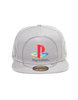 Playstation  - Silver Logo Casquette