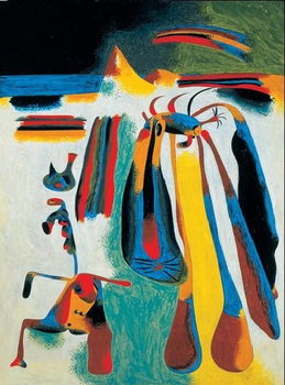 Catalan Peasant's Rest - Paysan Catalan au Repos, 1936 Reproduction d'art