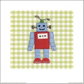 Catherine Colebrook - Robots Rule OK Festmény reprodukció