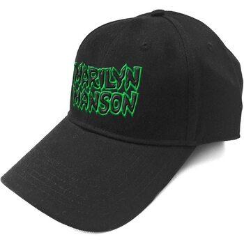 Čepice Marilyn Manson - Logo