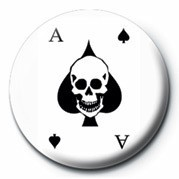 Chapitas ACE OF SPADES