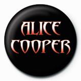 Chapitas ALICE COOPER - logo