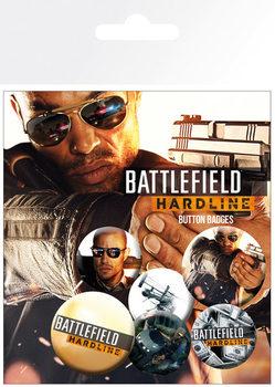 Set de chapas Battlefield Hardline - Soldiers