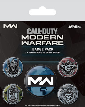 Set de chapas Call Of Duty: Modern Warfare - Fractions