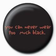 Chapitas D&G (TOO MUCH BLACK)