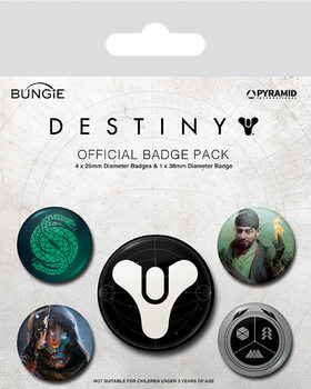 Set de chapas Destiny - Guardians of Light