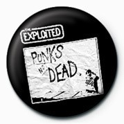 Chapitas EXPLOITED (PUNK'S NOT DEAD