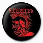 Chapitas EXPLOITED (RED SKULL)