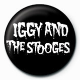 Chapitas IGGY POP and THE STOOGES - LOGO