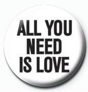 Chapitas JOHN LENNON - all you need is love