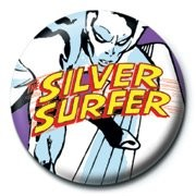 Chapitas MARVEL - silver surfer