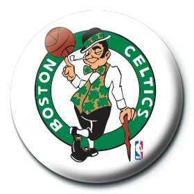 Chapitas  NBA - boston celtics logo
