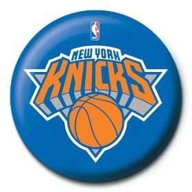 Chapitas NBA - new york knicks logo