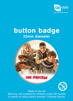 Chapitas  ONE DIRECTION - bundle