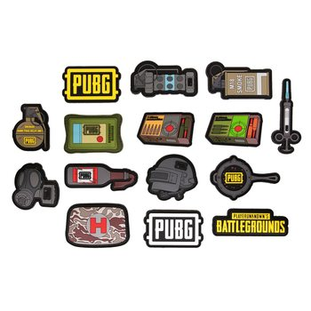Set de chapas PUBG - Assortment