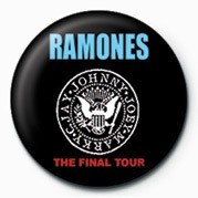 Chapitas RAMONES (FINAL TOUR)