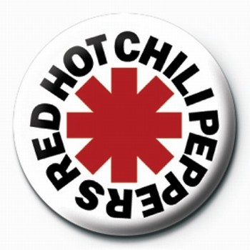Chapitas RED HOT CHILI PEPPERS LOGO