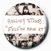 Chapitas Rolling Stones - Exile on PY
