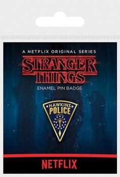 Chapitas Stranger Things - Hawkins Police