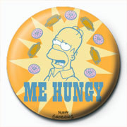 Chapitas THE SIMPSONS - homer me hungy